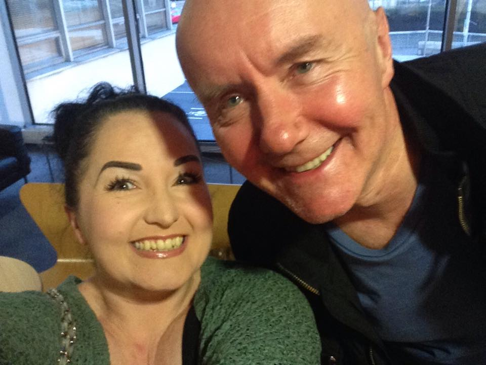Me and Irvine Welsh - soundest Scotsman since Robert The Bruce
